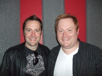 Tony Scott with Keith Barry in Studio
