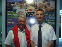 Alan Corcoran and Larry Byrne from St. Helens Bay Golf Resort