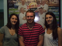 Ellie &amp; Louise 'Heathers' with Lee Hynes in South East Radio