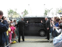 The excitement, the arrival of Jedward