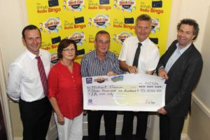 Congratulations to our Rehab Radio Jackpot winner Michael Gannon from New Ross who collected his cheque for €15,650 (picture taken by Jim Campbell) - click here to view our full gallery