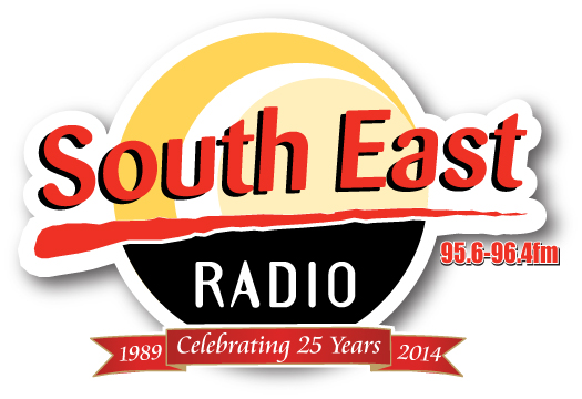 South East Radio 25 years logo