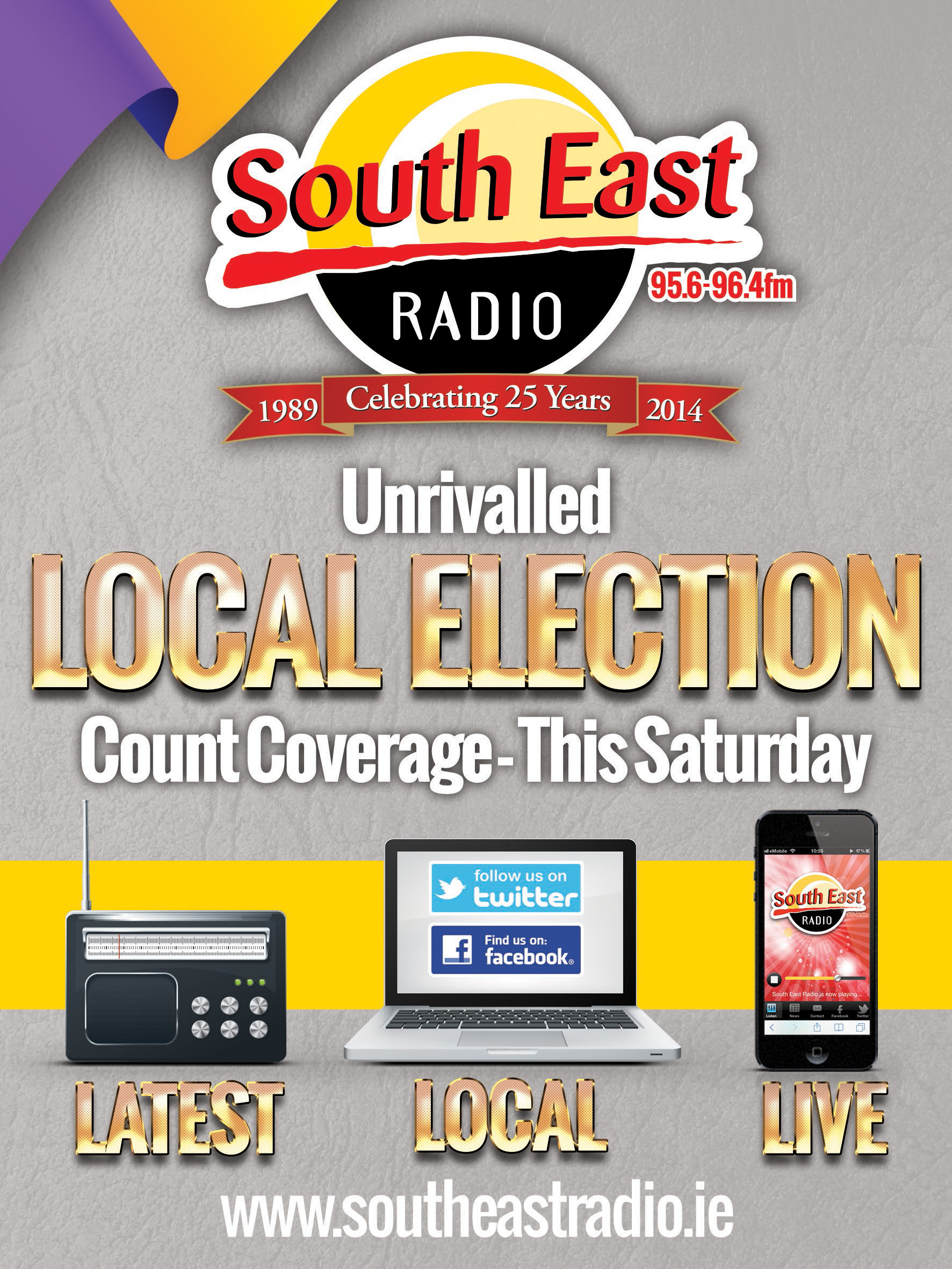 South East Radio for unrivalled Local Election Coverage