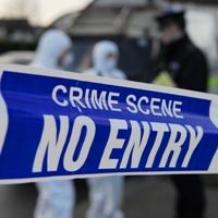 Garda crime scene