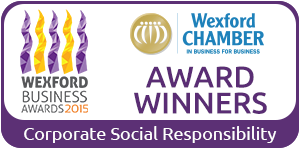 Wexford Business Awards 2015 Corporate Social Responsibility winner