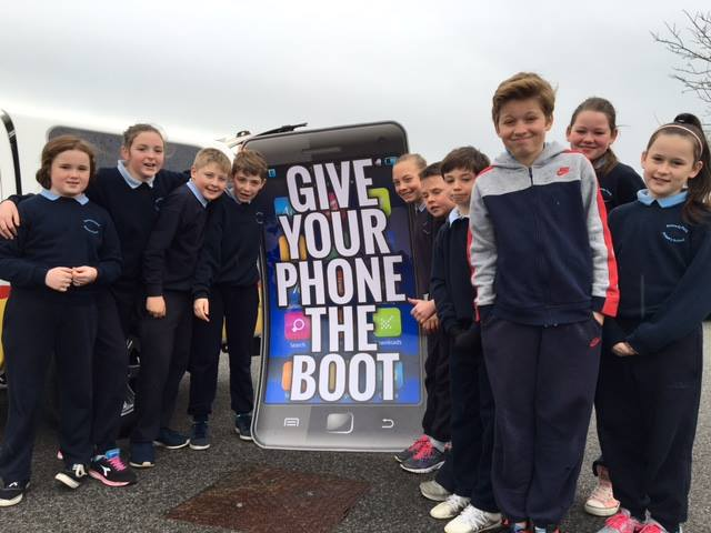 Give Your Phone the Boot Friday 29th April