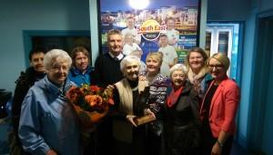 Ann Ennis.South East Radio/Talbot Hotel Outstanding Achievement award winner